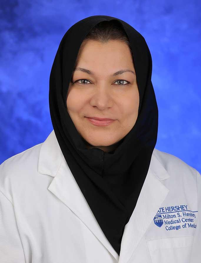 Ayesha S. Ahmad, M.D.,F.A.C.P.