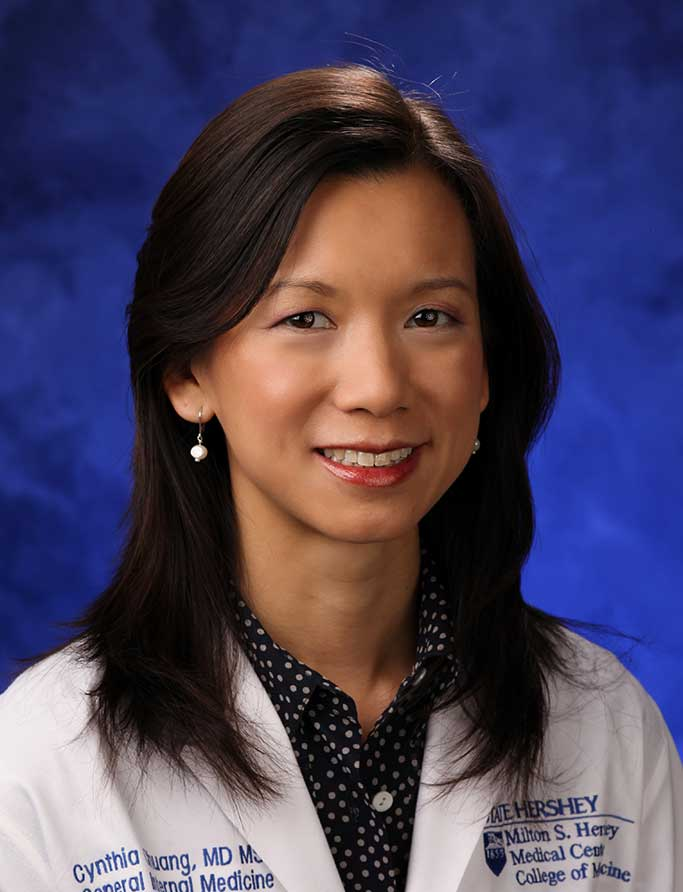 A head-and-shoulders professional photo of Cynthia Chuang, MD, MSc