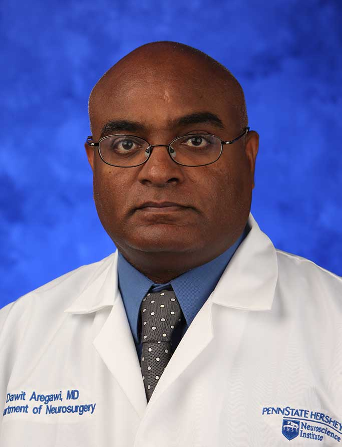 A head-and-shoulders photo of Dawit G. Aregawi, MD