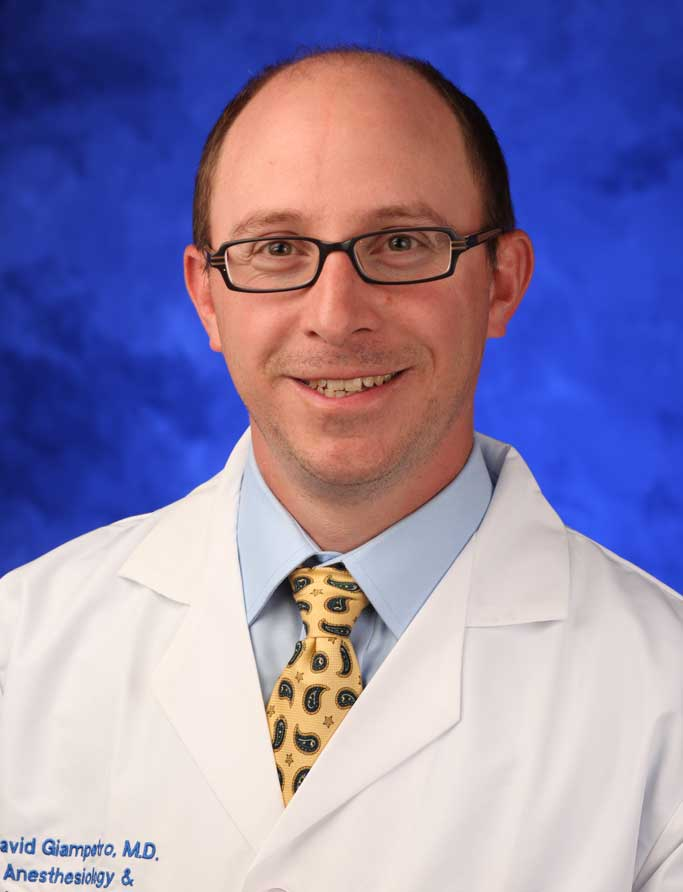 David M. Giampetro, M.D.