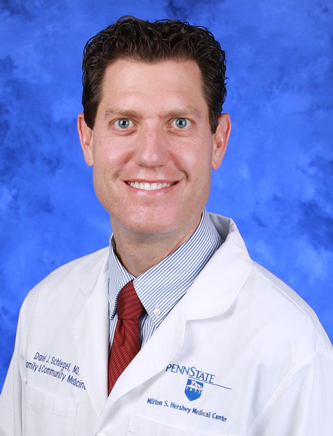 Daniel J. Schlegel, MD,MHA