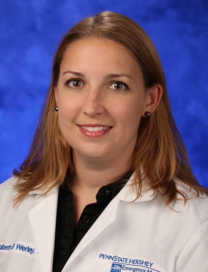 Elizabeth B. Werley, M.D.