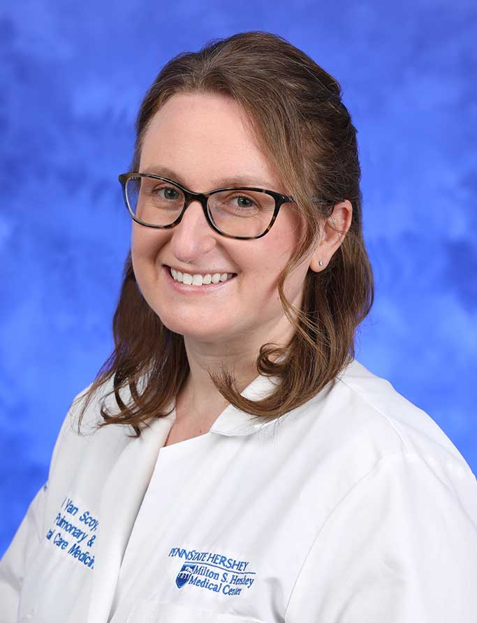 A head-and-shoulders professional photo of Lauren Van Scoy, MD
