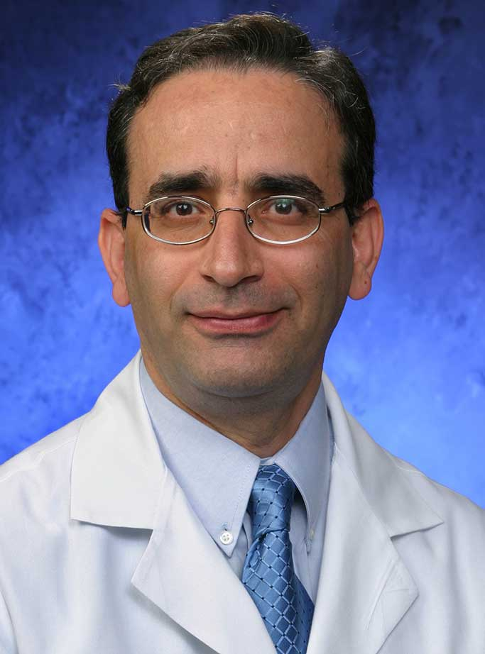 A head-and-shoulders professional photo of Nasrollah Ghahramani, MD, MS