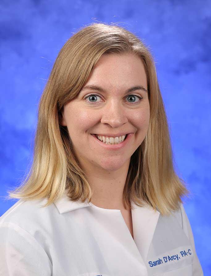 Sarah J. H. D'Arcy, PA-C