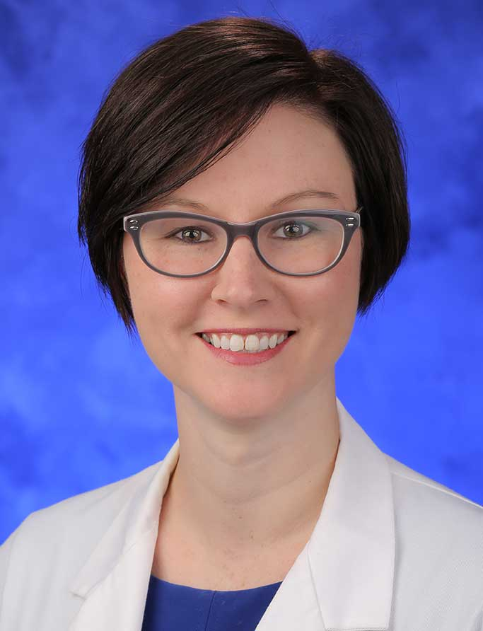 A head-and-shoulders photo of Susan MacDonald, MD