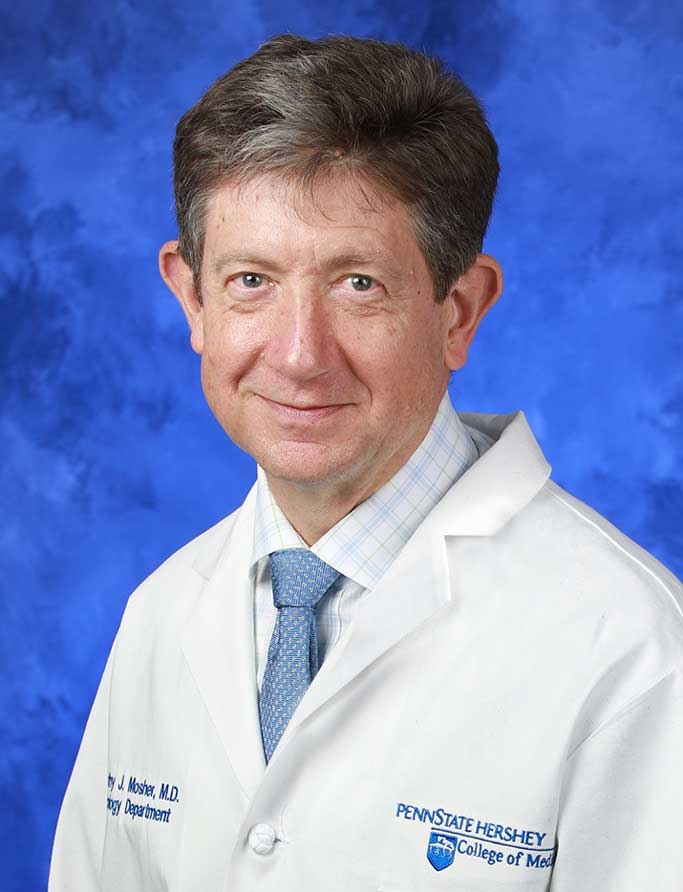 A head-and-shoulders professional photo of Dr. Timothy Mosher