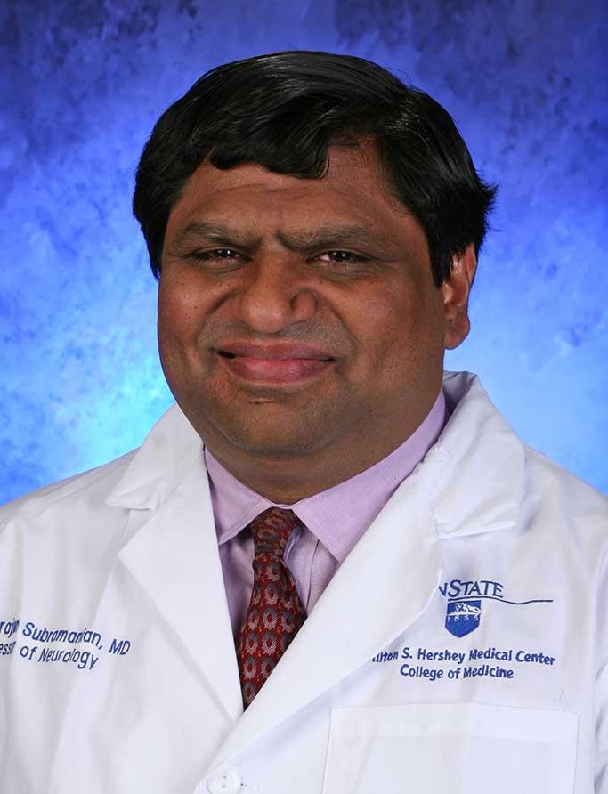 Thyagarajan Subramanian, MD - Penn State Health Milton S